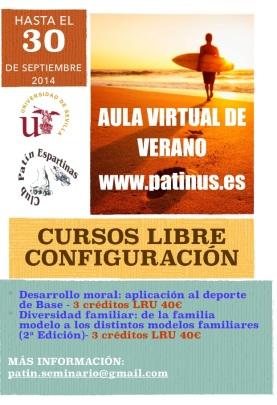 cartel cursos verano